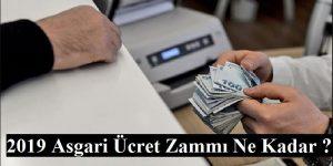 2019-Asgari ücret