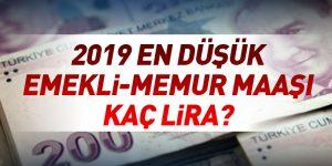 2019 maaş