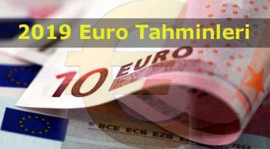 2019′ Da Euro Artacak Mı' Euro Ne Kadar Olacak?
