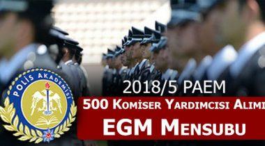 500 Komiser Yardımcısı Alımı İçin İstenen Şartlar