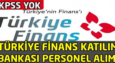Türkiye Finans Katılım Bankası Personel Alımı