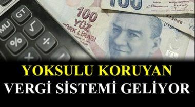 Vergi Sistemi Gelire Göre Değişiyor