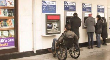 ABank'tan Engelli Müşterilerine Özel ATM