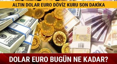Altın- Dolar- Euro Fiyatlarında Son Dakika
