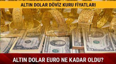 Euro-Dolar Ve Altında Fiyatlarında Bugün Neler Yaşandı