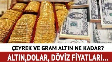 Dolar-Euro ve Altın Düştü! Son Dakika Döviz ve Altın Fiyatları