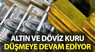 Dolar-Euro ve Altın Fiyatları Sert Düştü