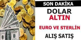 Euro- Dolar-Sterlin ve Altın Güncel Fiyatları