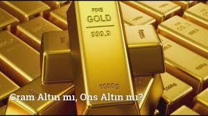 Altın Fiyatlarında Son Dakika Gelişmeleri