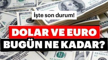 Dolar-Euro-Sterlin! Son Dakika Döviz Kuru Haberleri
