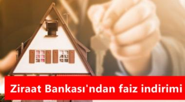 Ziraat Bankası Konut Kredisi Faizlerini Düşürdü