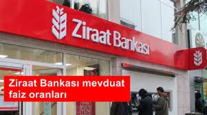 Ziraat Bankası 2019 Yılı Güncel Mevduat Faizi Oranları