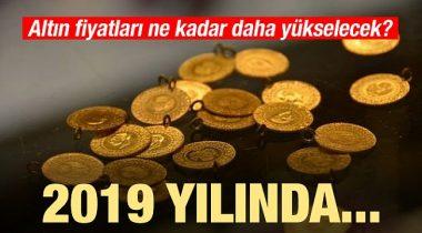 Altın 2019 Yılında Ne Kadar Yükselecek