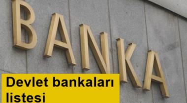 Devlete Ait Olan Bankalar