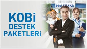 HalkBankası KOBİ Kredisi Destekleri Başlıyor