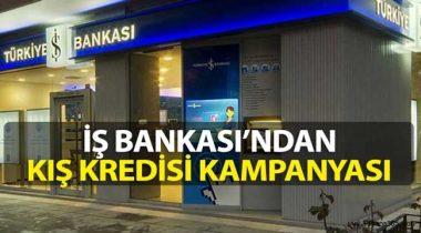 İş Bankası Kış Kredisi Kampanyası