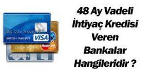 48 AY VADELİ