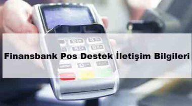 QNB Finansbank Pos Destek Hatı