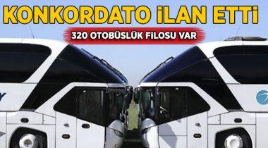 Ulusoy Turizm Konkordato İlan Etti