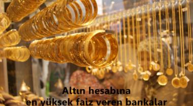 Altın Hesabı İçin En Uygun Banka