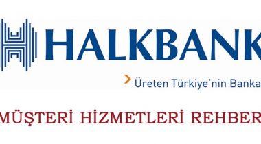 Halkbank Müşteri Hizmetleri 0850 222 0 400