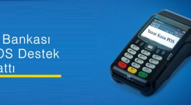 İş Bankası Pos Destek Telefon Numarası 0850 724 7 767