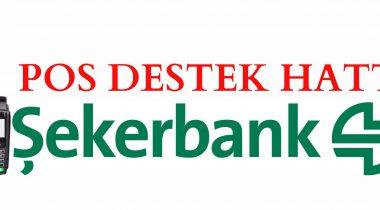 Şekerbank Pos Destek Hattı
