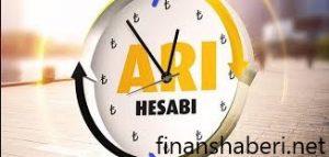 VAKIFBANK ARI HESABI