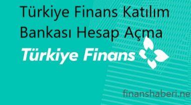 Türkiye Finans Hesap Açma