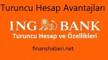 ING bank Turuncu Hesap Özellikleri