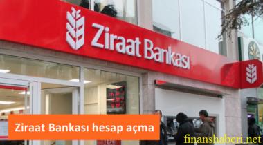 Ziraat Bankası Hesap Açma