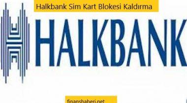 Halkbank Sim Kart Blokesi Kaldırma