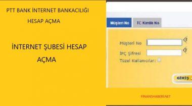 PTT  İnternet Bankacılığı