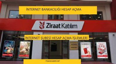 Ziraat Katılım İnternet Bankacılığı