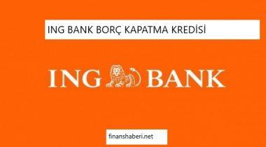 ING Bank Borç Kapatma Kredisi