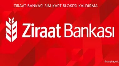 Ziraat Bankası Sim Kart Blokesi Kaldırma