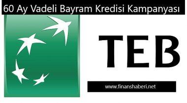 TEB Bayram Kredisi Kampanyası Başladı