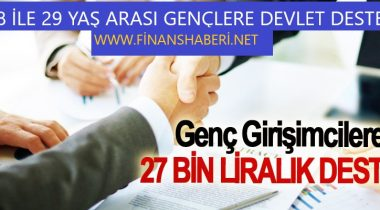 29 Yaş Altı Gençlere 27 Bin TL Destek
