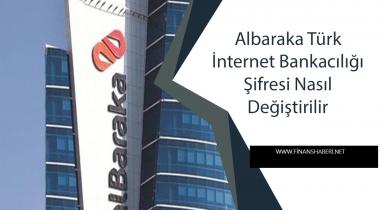 Albaraka Türk İnternet Bankacılığı Şifre Alma