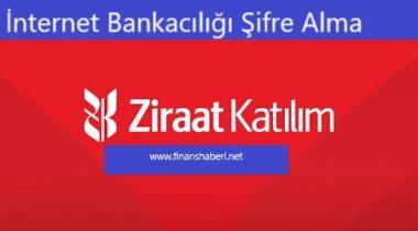 Ziraat Katılım İnternet Bankacılığı Şifre Alma