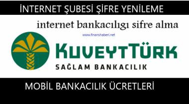 KUVEYT TÜRK İnternet Bankacılığı Şifre Alma