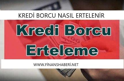Kredi-borcu-erteleme