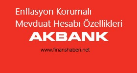 Akbank Enflasyona Endeksli Mevduat Hesabı