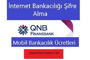 FİNANSBANK İnternet Bankacılığı Şifre Alma