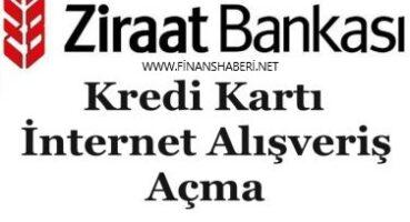 Ziraat Bankası Online Alışveriş Açma Kapama