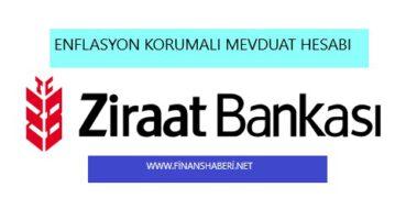Ziraat Bankası Enflasyon Korumalı Mevduat Hesabı