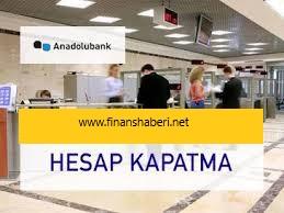 Anadolubank hesap