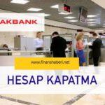 akbank-hesap-kapatma