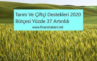 Çiftçi ve Tarım Destekleri Yüzde 37 Artırıldı