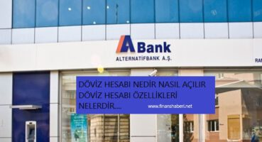 Alternatif Bank Döviz Hesabı Açma